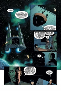 Dark Horse: Serenity Firefly Class 03-K64 - Leaves on the Wind #1, page 1