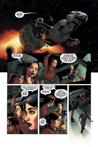 Dark Horse: Serenity Firefly Class 03-K64 - Leaves on the Wind #1, page 3