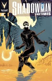 Shadowman End Times #1 cover by Giuseppe Camuncoli
