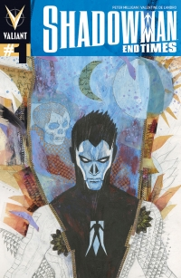 Shadowman End Times #1 variant cover by David Mack