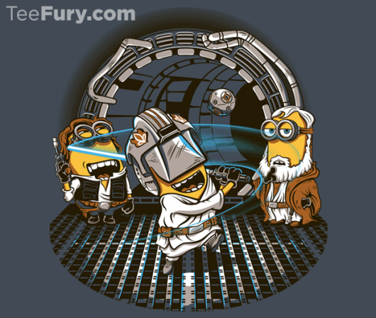 Despicable Me Meets Star Wars In Despicable Training shirt