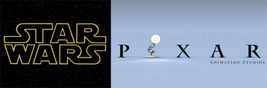 Star Wars Pixar Mashup Header
