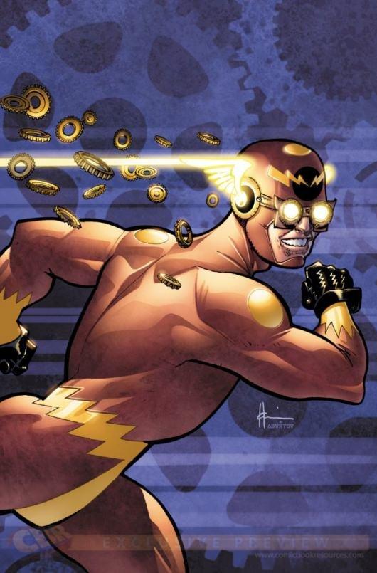 Flash #28 variant by Howard Chaykin