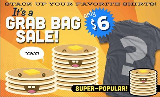 Teefury $6 Grab Bag T-Shirt Sale