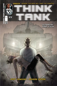 Think Tank #12 cover by Rahsan Ekedal and Andy Troy