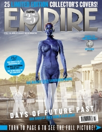 X-Men: Days Of Future Past, Empire cover 06 Mystique