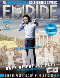 X-Men: Days Of Future Past, Empire cover 10 Professor X, James McAvoy