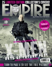 X-Men: Days Of Future Past, Empire cover 14 Professor X, Patrick Stewart
