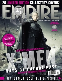 X-Men: Days Of Future Past, Empire cover 15 Magneto, Ian McKellen