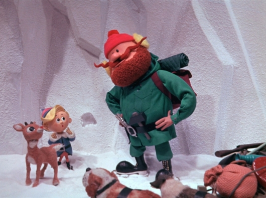 Yukon Cornelius and Rudolph in Rudolph the Red-Nosed Reindeer