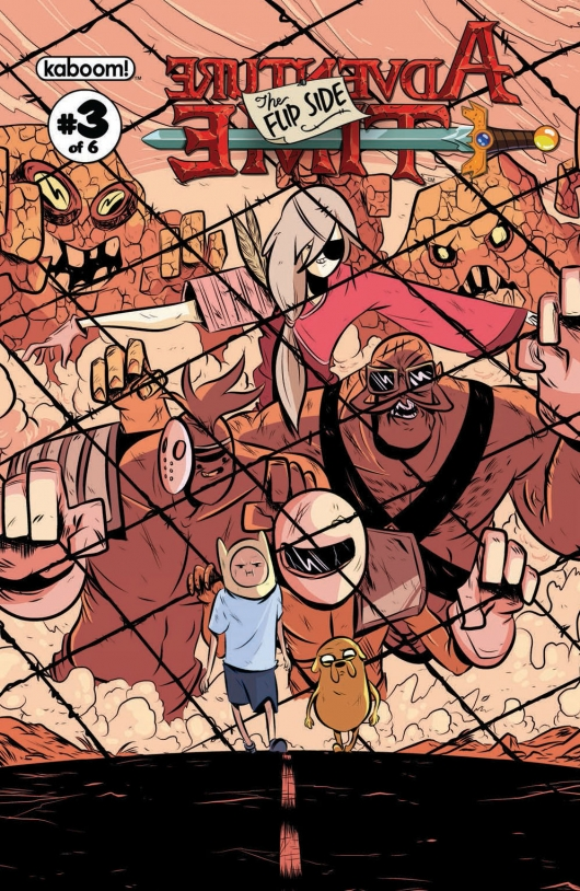 Adventure Time: The Flip Side #3 cover A by Wook Jin Clark