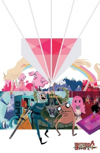 Adventure Time: The Flip Side #3 cover C by Heather Danforth