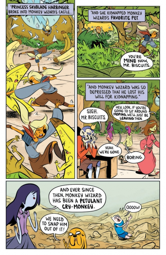 Adventure Time: The Flip Side #3 page 05