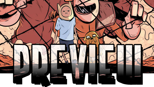 Adventure Time: The Flip Side #3 preview banner