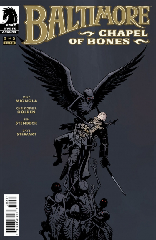 Baltimore: Chapel of Bones #2 Dark Horse cover by Ben Stenbeck