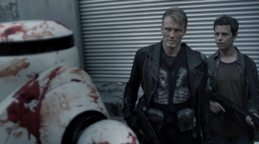Dolph Lundgren in Battle of the Damned