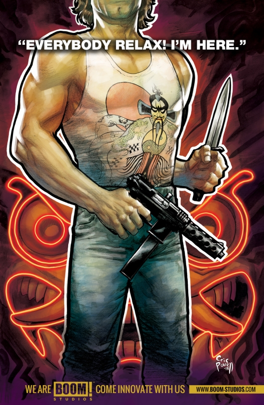 Big Trouble in Little China Boom Studios comic book teaser