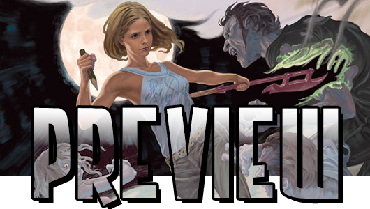 Buffy The Vampire Slayer, Season 10 #1 preview banner