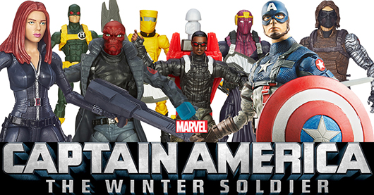 Captain America: The Winter Soldier toys banner