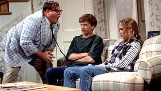 Chris Farley as Matt Foley on SNL