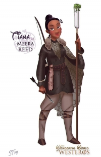 Tiana as Meera Reed