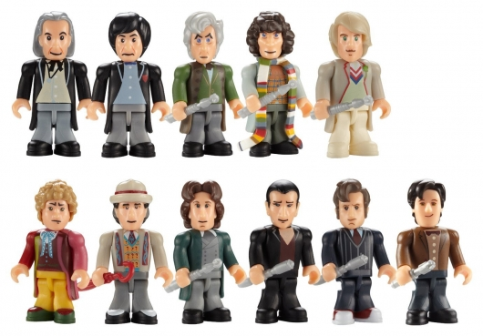 Doctor Who The Eleven Doctors Micro-Figure Set by Character Group