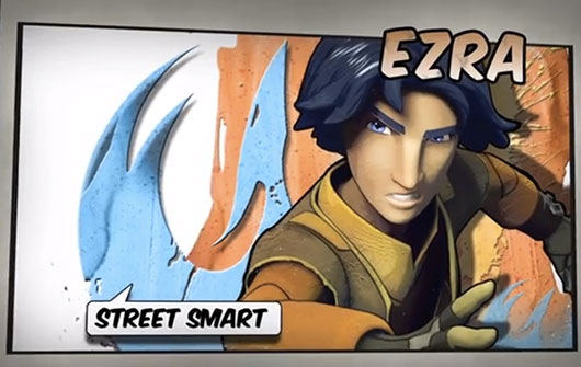 Star Wars Rebels Ezra street smart