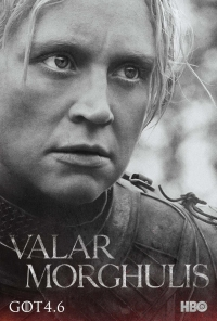Game Of Thrones: Brienne season 4 character poster