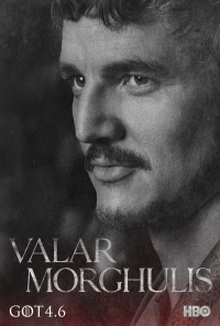 Game Of Thrones: Oberyn season 4 character poster