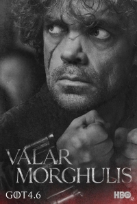 Game Of Thrones: Tyrion season 4 character poster