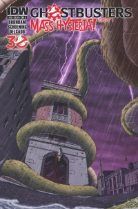 Ghostbusters #13 cover by Dan Schoening