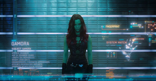 Guardians of the Galaxy: Gamora 03 |Gamora Guardians Of The Galaxy Trailer