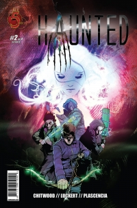 Haunted #2 cover by Danny Luckert