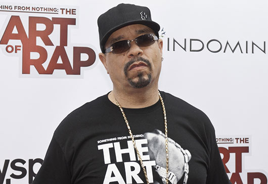 Ice-T at Something For Nothing: The Art Of Rap screening NYC June 2012