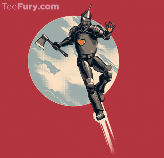 Iron Man Invincible Tin Man Shirt