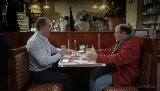 Seinfeld Reunion Super Bowl Spot For Comedians in Cars Getting Coffee Jerry Seinfeld George Costanza