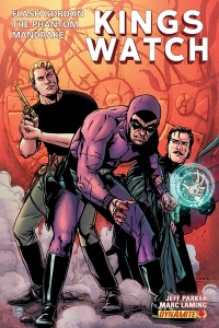 Kings Watch #4 cover by Marc Laming