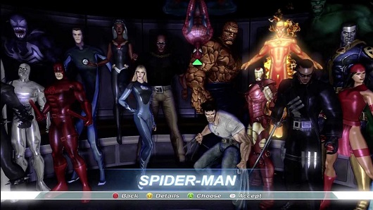 Marvel Ultimate Alliance from Activision