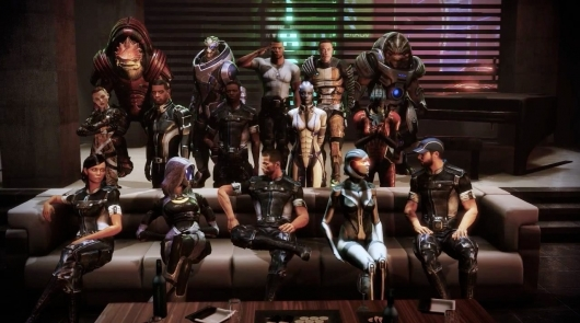 Mass Effect Group Photo