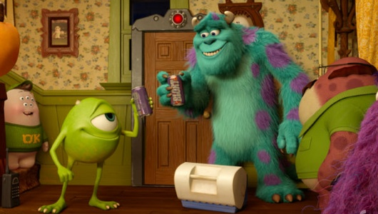 Monsters University Party Central Short Header