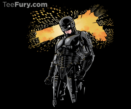 RoboCop Batman Detroit Knight Rises Shirt