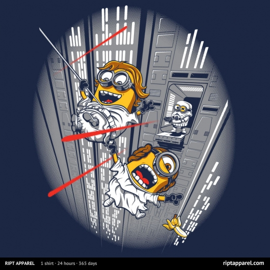 Star Wars Despicable Escape by DJKopet