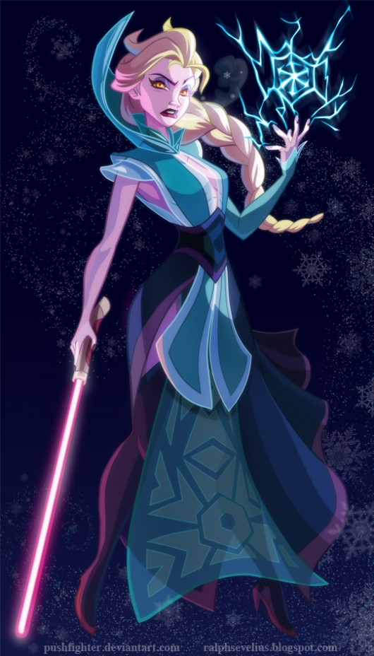 Star Wars Disney Princess: Sith Elsa