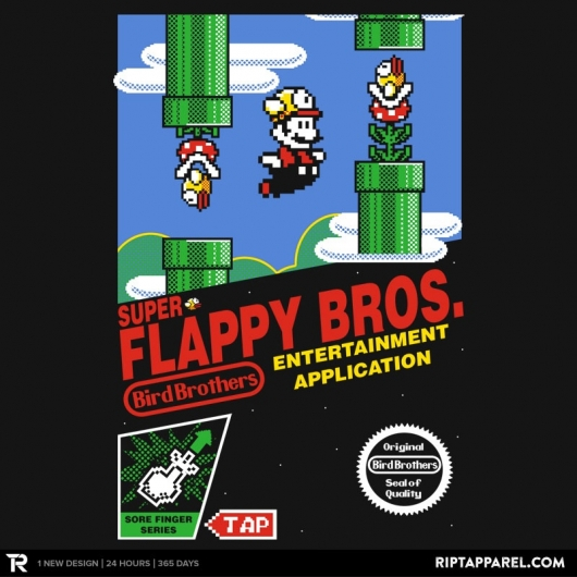 Mario Bros Flappy Birds Super Flappy Bros