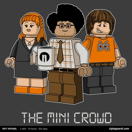 The IT Crowd LEGO The MINI Crowd