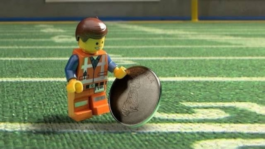 The LEGO Movie Puppy Bowl Coin Toss