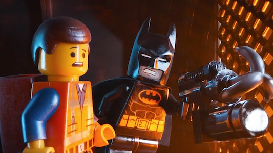 The LEGO Movie starring Chris Pratt and Will Arnett