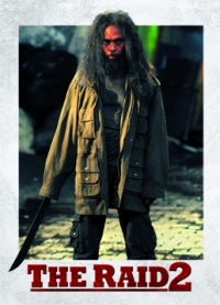 The Raid 2 Trading Cards: Prakoso, front
