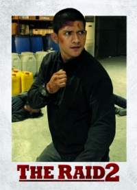 The Raid 2 Trading Cards: Rama, front