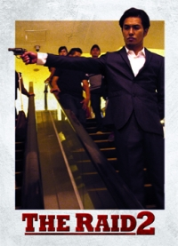 The Raid 2 Trading Cards: Ryuichi, front